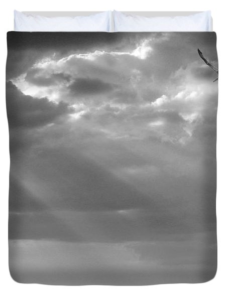 After The Storm Duvet Cover by Mariarosa Rockefeller