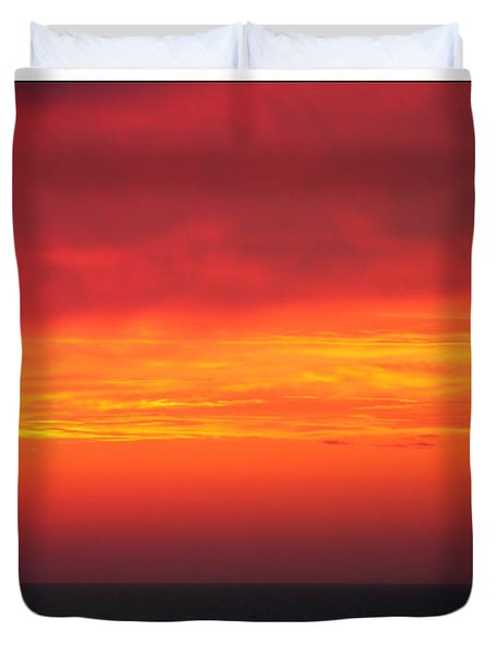Afterglow Duvet Cover by Mariarosa Rockefeller