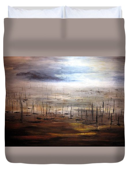 Aftermath Duvet Cover
