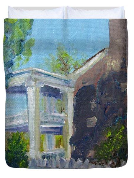Afternoon At Carnton Plantation Duvet Cover by Susan E Jones