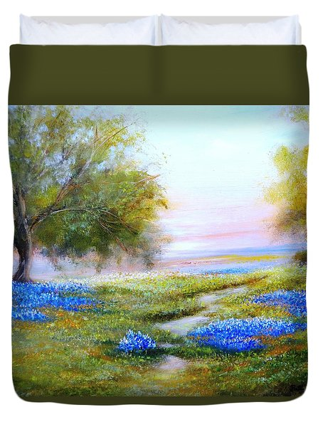 Afternoon Contemplation Duvet Cover
