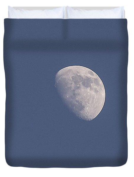 Afternoon Half Moon Duvet Cover by Angela A Stanton