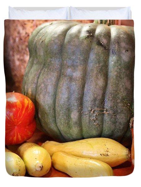 Afternoon Harvest Duvet Cover