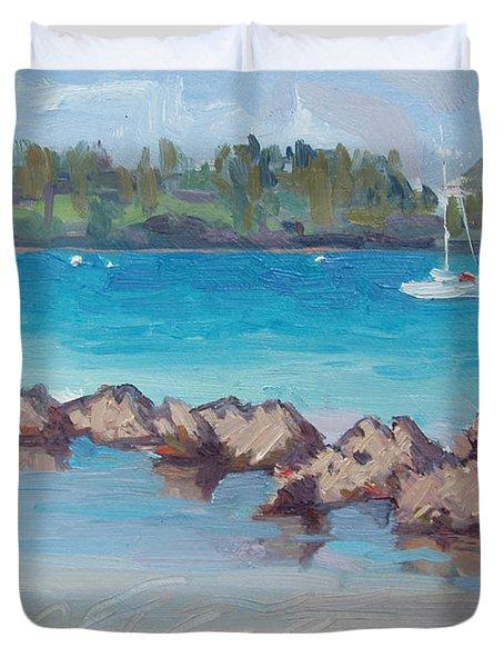 Afternoon Light Duvet Cover by Dianne Panarelli Miller