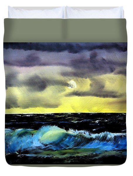 Afternoon On The Oceans Duvet Cover