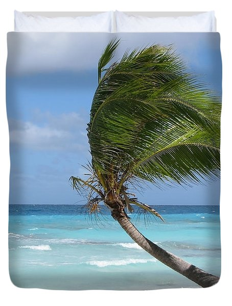 Against The Winds Duvet Cover by Jola Martysz