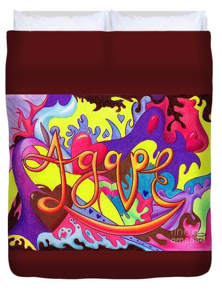 Agape Duvet Cover