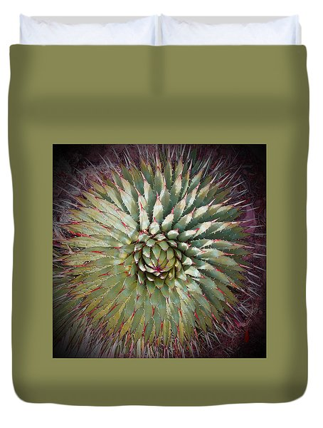 Agave Spikes Duvet Cover