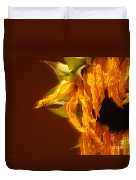 Duvet Cover featuring the photograph Ageing Is Beautiful by Angela J Wright