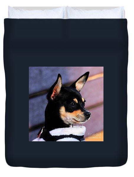 Agie - Chihuahua Pitbull Duvet Cover