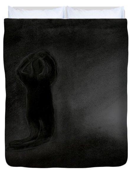 Agony Of The Outside World 1 Duvet Cover