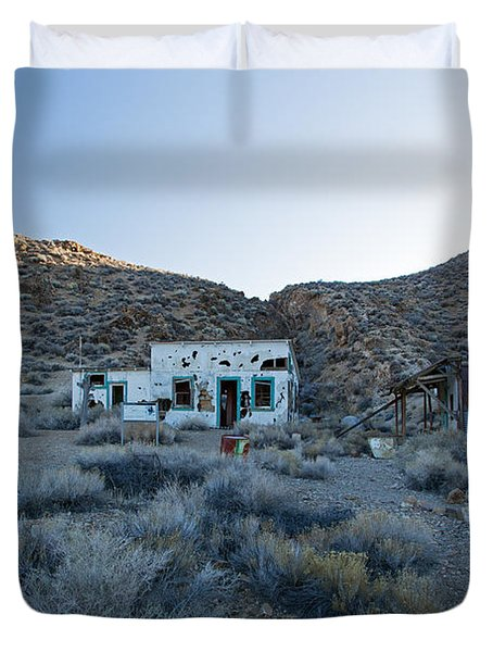 Aguereberry Camp Death Valley National Park Duvet Cover