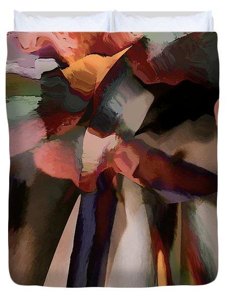 Ahhh Harmony Duvet Cover by Margie Chapman