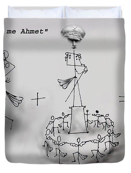 Ahmet Zogu Perralla Me Mbret Duvet Cover
