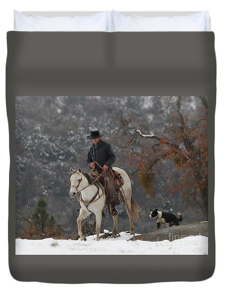 Ahwahnee Cowboy Duvet Cover