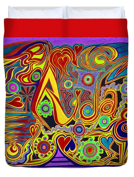 Aida 6  Duvet Cover