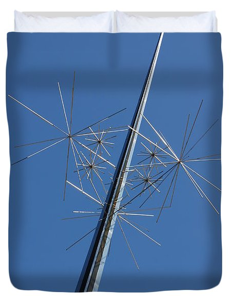 Air And Space Museum Art Spire Duvet Cover