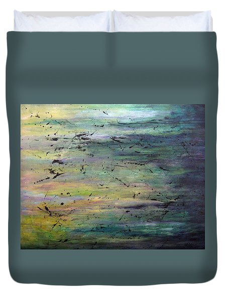 Air And Substance Duvet Cover