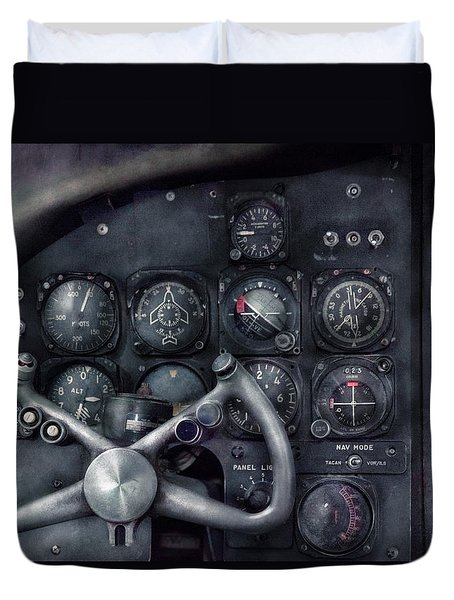Air - The Cockpit Duvet Cover