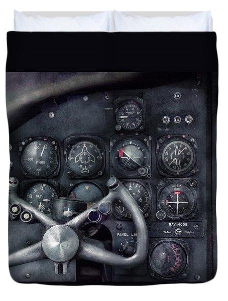 Air - The Cockpit Duvet Cover