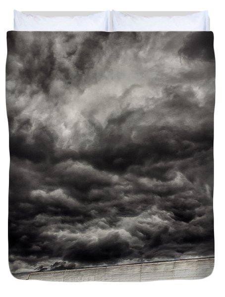 Airplane Duvet Cover by Bob Orsillo