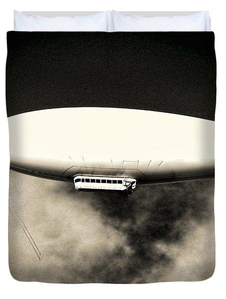 Airship Duvet Cover