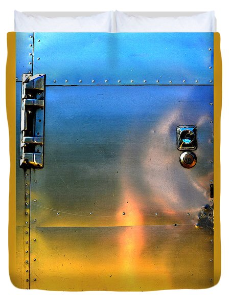 Airstream Sunset Duvet Cover