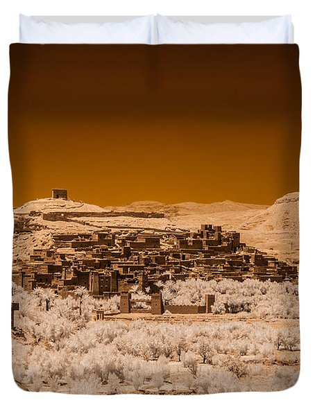 Ait Benhaddou Duvet Cover