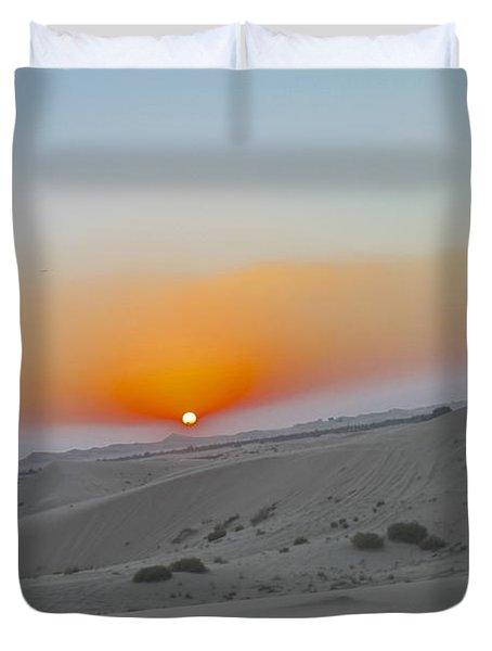 Al Ain Desert 12 Duvet Cover