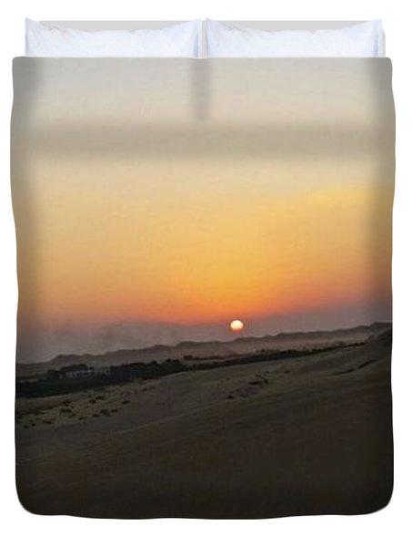 Al Ain Desert 20 Duvet Cover