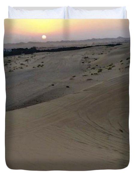 Al Ain Desert 8 Duvet Cover