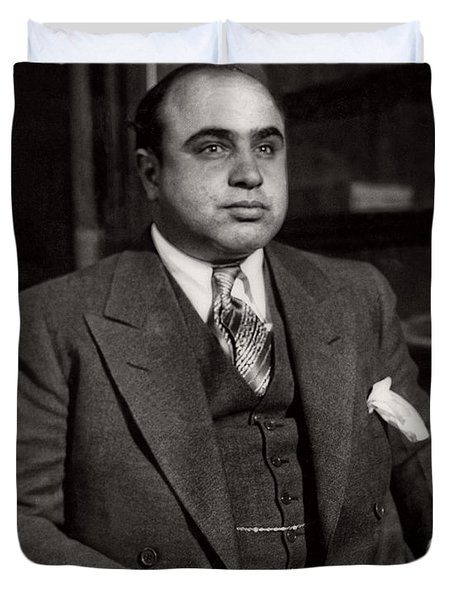 Al Capone - Scarface Duvet Cover