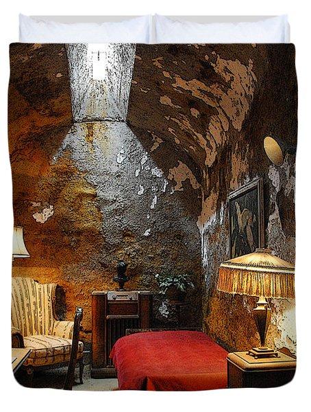 Al Capone's Cell Duvet Cover