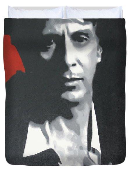 Al Pacino 2013 Duvet Cover by Luis Ludzska