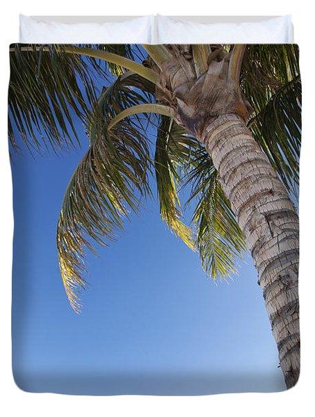 Ala Moana Beach Duvet Cover by Brandon Tabiolo