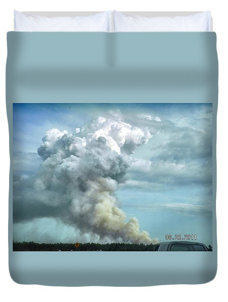 Alabama Fire Duvet Cover