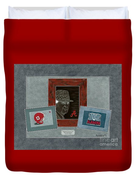 Alabama Trio  Duvet Cover