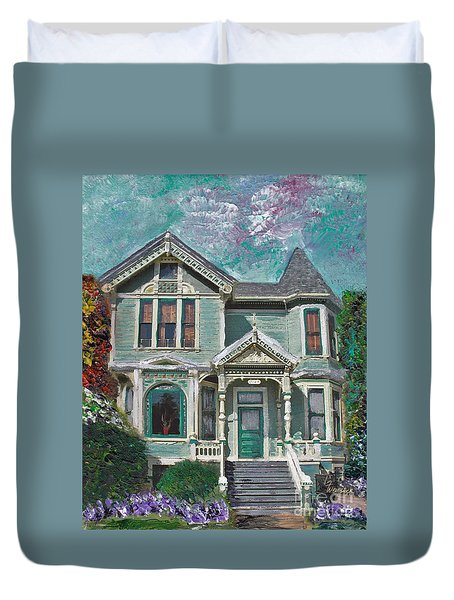 Alameda 1897 - Queen Anne Duvet Cover