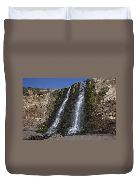 Alamere Falls Three Duvet Cover by Garry Gay