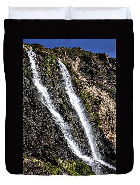Alamere Falls Two Duvet Cover by Garry Gay