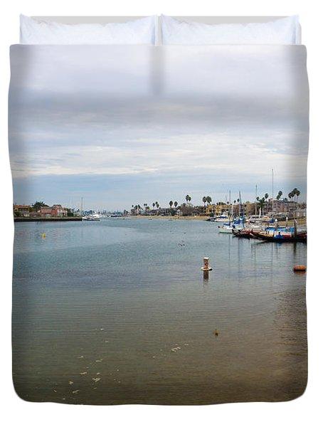 Alamitos Bay Duvet Cover by Heidi Smith