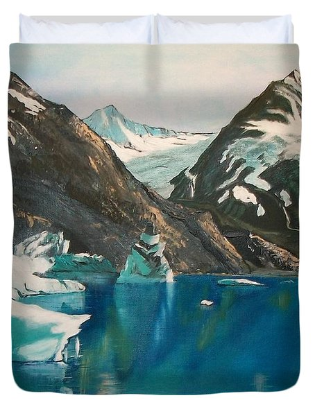 Alaska Reflections Duvet Cover