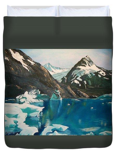 Alaska Reflections Duvet Cover