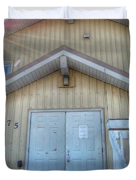Alaskan Church Duvet Cover