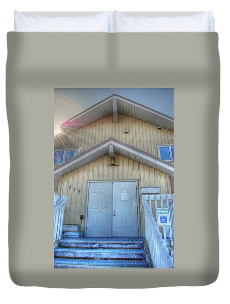 Alaskan Church Duvet Cover