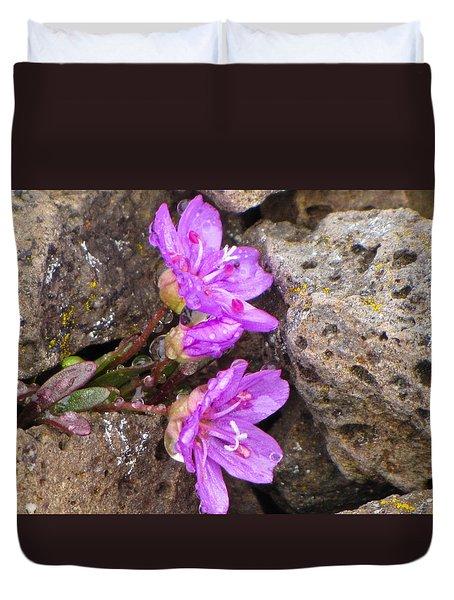 Alaskan Wildflower Duvet Cover