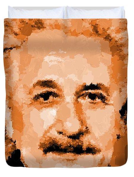 Albert Einstein 01 Duvet Cover