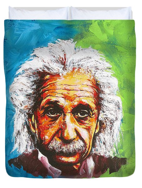 Albert Tribute Duvet Cover