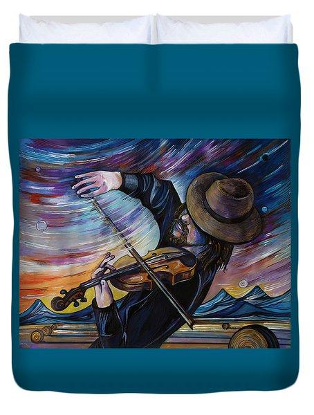 Alberta Fiddle Duvet Cover