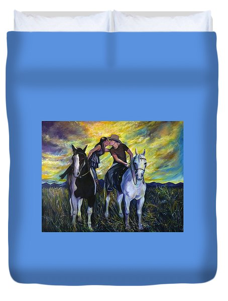 Alberta Kiss Duvet Cover